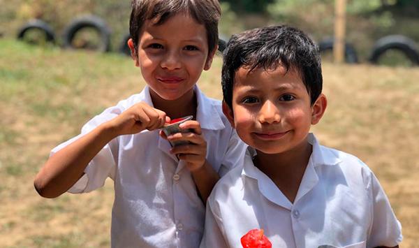 Mejoramiento de una escuela comunitaria en Santa Teresa
